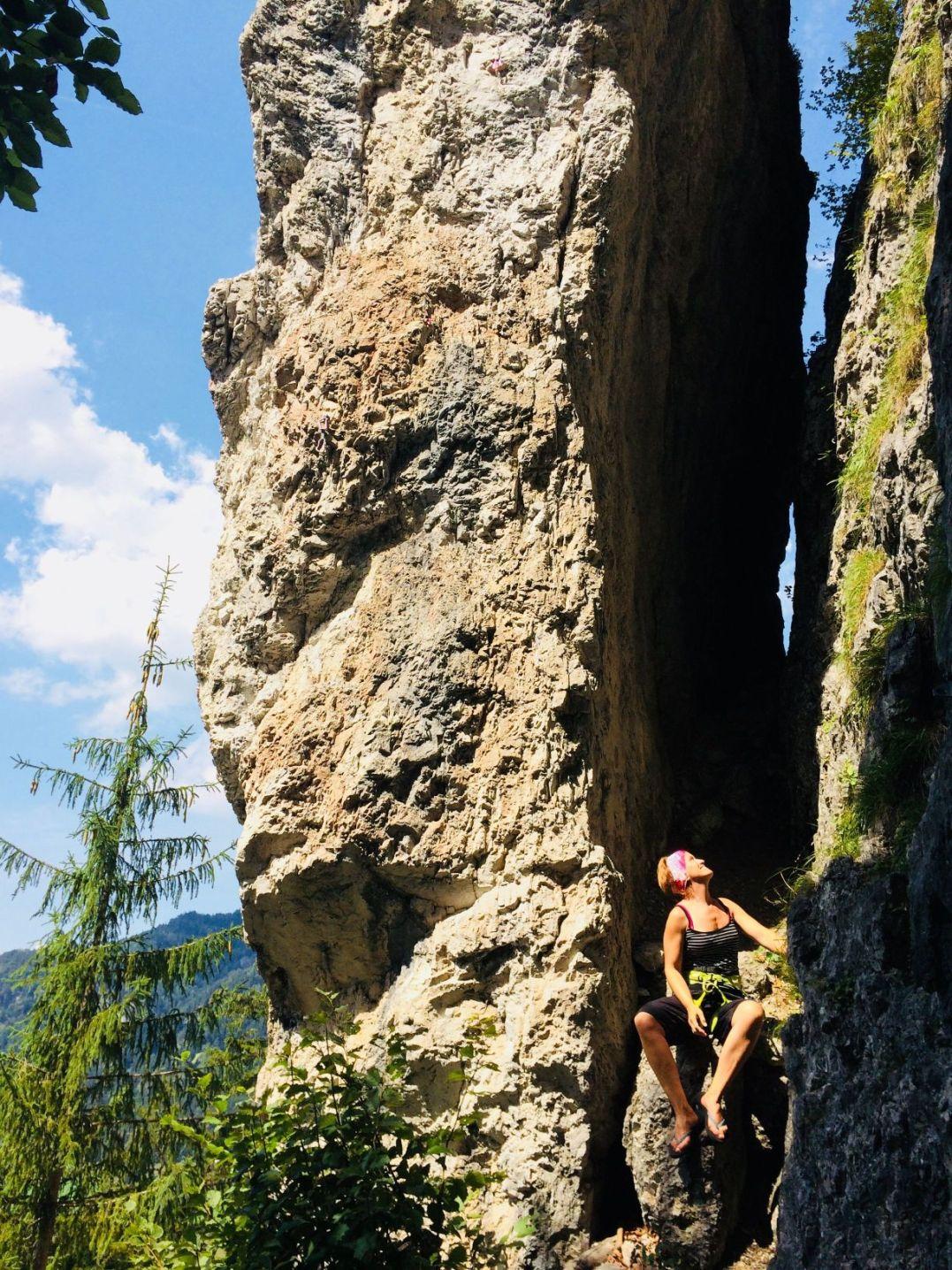 Seitenansicht – Klettegarten Klobental | Climbers Paradise