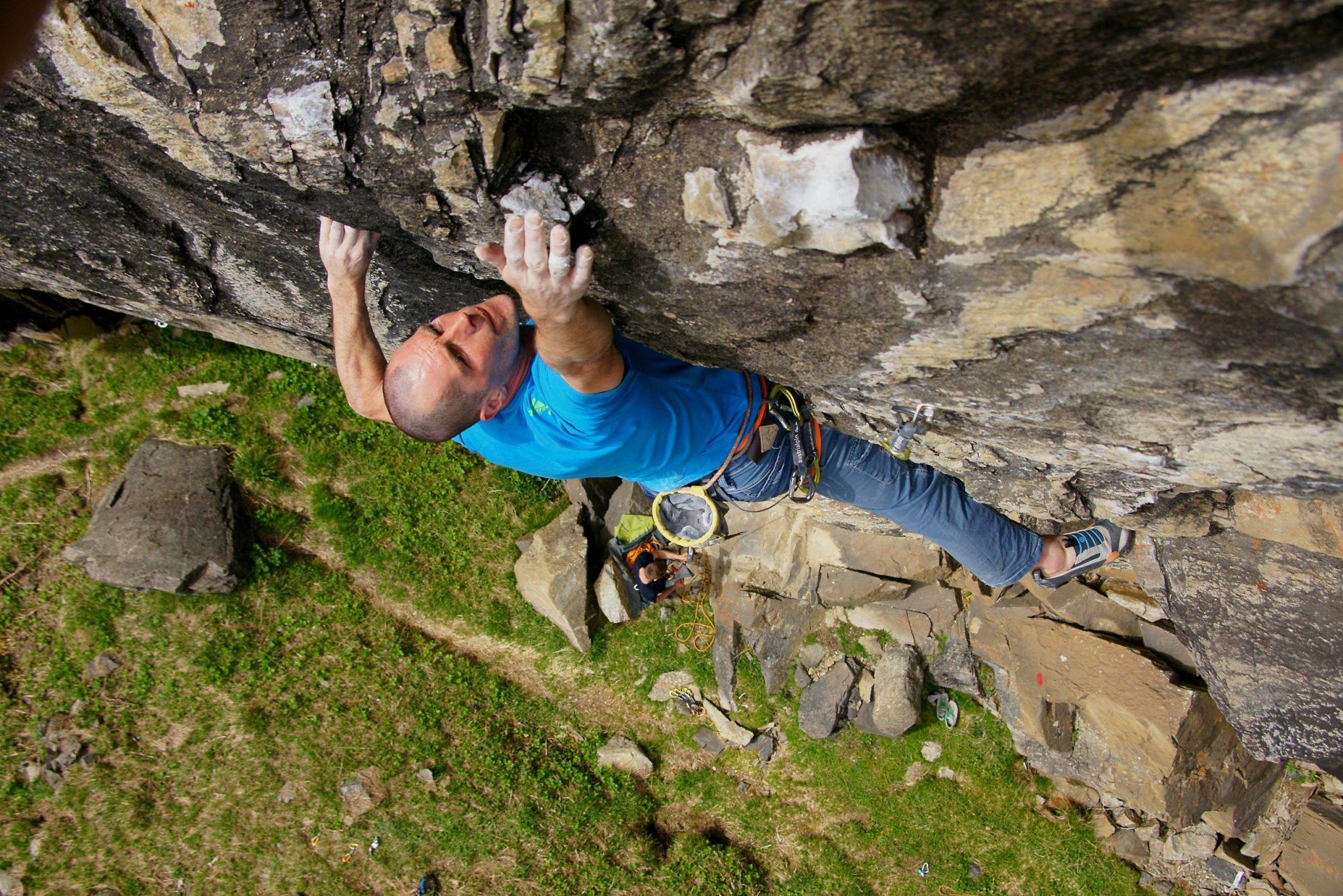 Tiefblick beim Hexenkessel, Foto: TVB Pitztal, Benedikt Falbesoner | Climbers Paradise