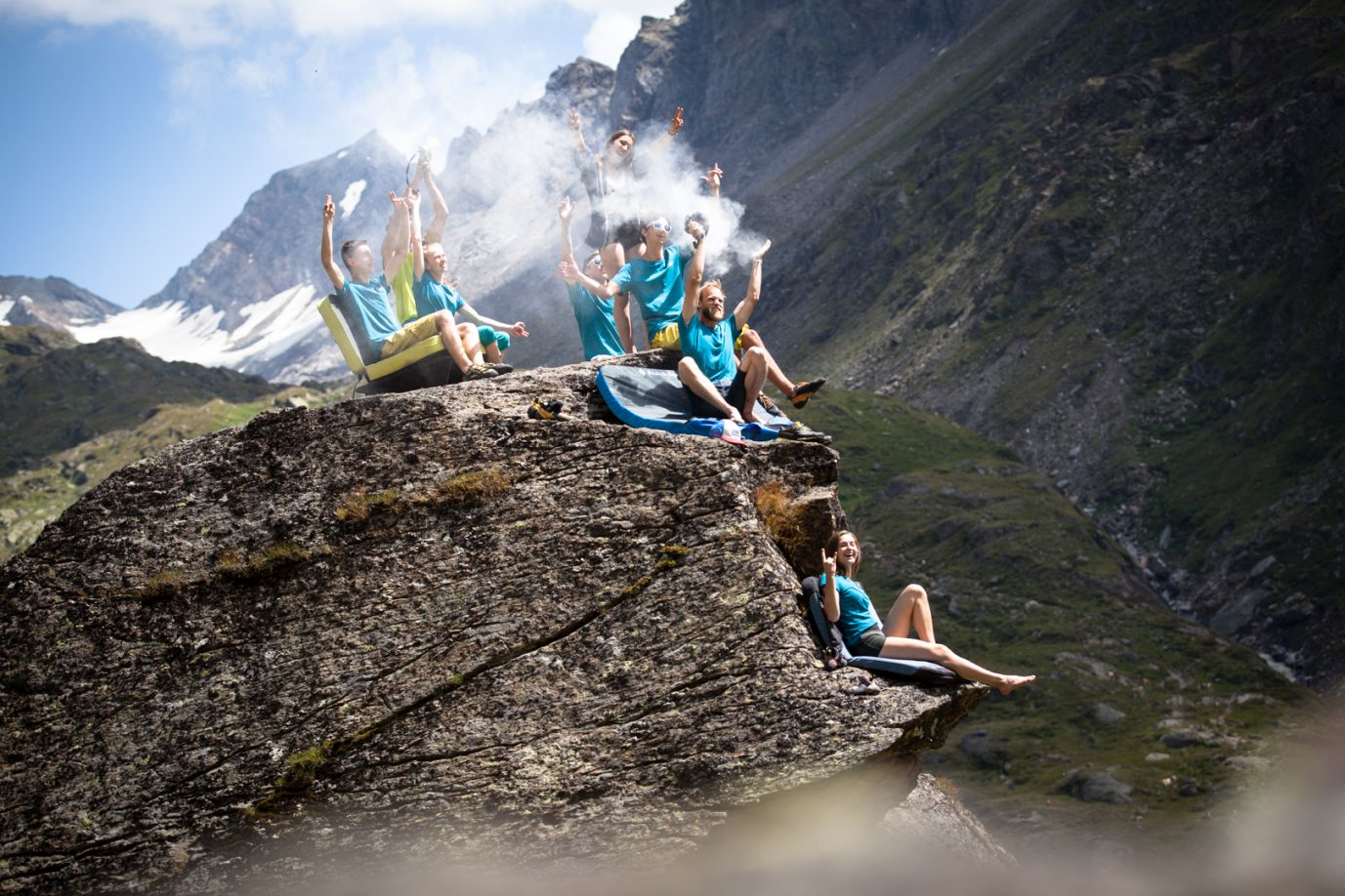 Boulder-Gruppe in Osttirol, Foto: Tobias Attenberger | Climbers Paradise