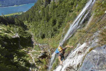 Klettersteig Buchau, Foto: Achensee Tourismus | Climbers Paradise