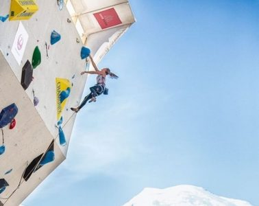 Hannah Schubert beim Klettern, Foto: Heiko Wilhelm   Climbers Paradise