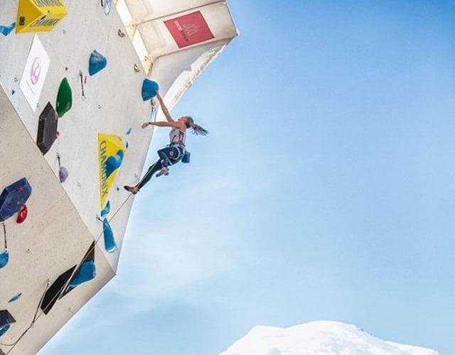 Hannah Schubert beim Klettern, Foto: Heiko Wilhelm | Climbers Paradise