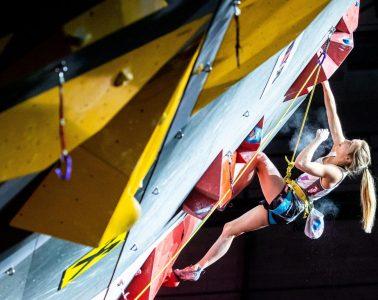 Jessica Pilz, Foto: Johann Groder   Climbers Paradise