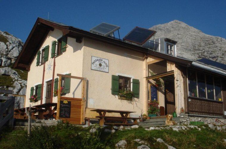 Die Passauer Hütte, Foto: Passauer Hütte | Climbers Paradise