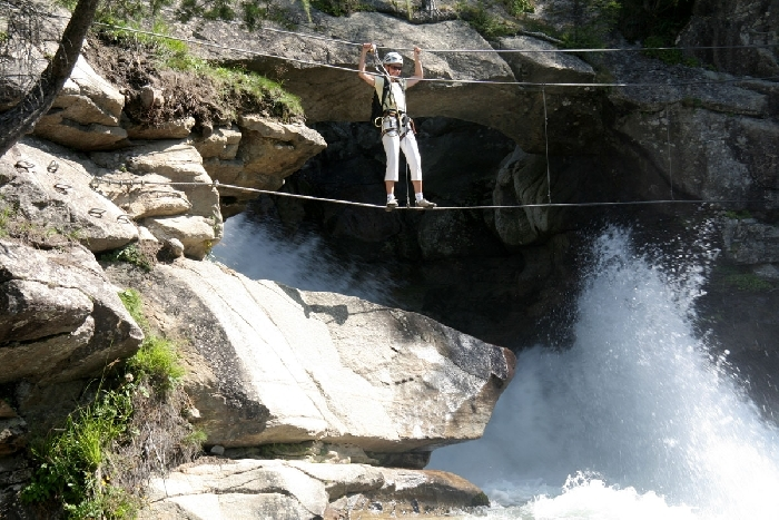 Stuibenfall Klettersteig, Foto: Cordula Gabl | Climbers Paradise