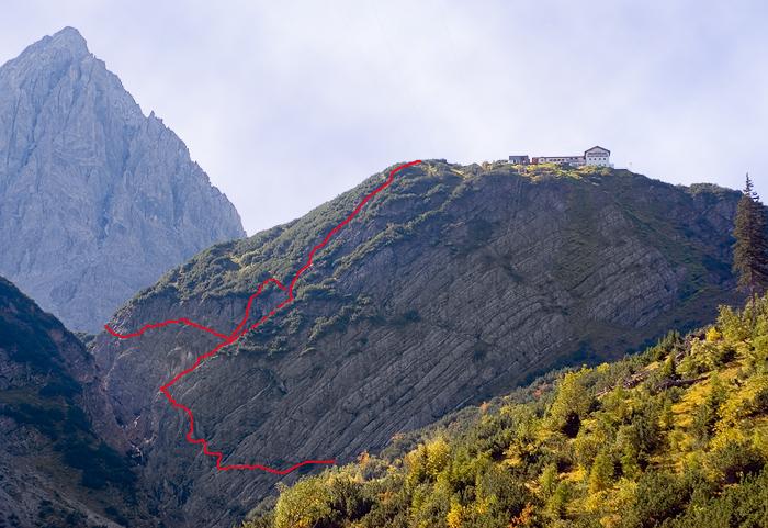Hanauer Klettersteig | Climbers Paradise