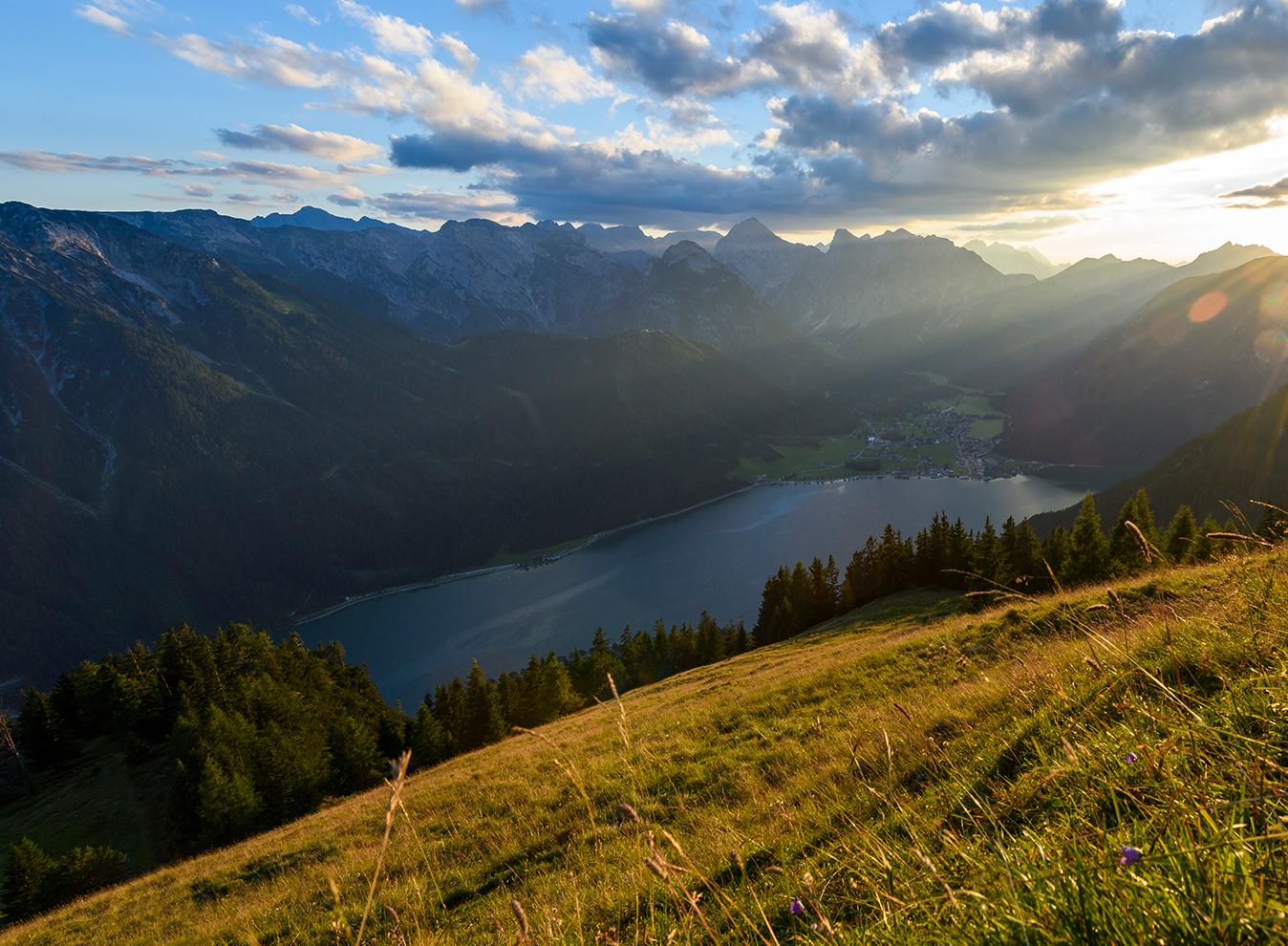 Der Herbst im Rofan, Foto: Achensee Tourismus | Climbers Paradise
