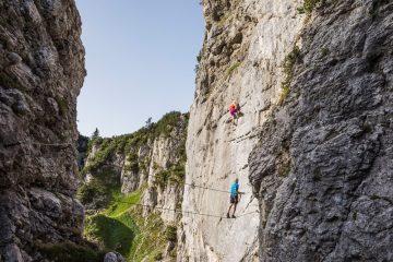 Klettersteig Klamml am Wilden Kaiser, Foto: Peter von Felbert | Climbers Paradise