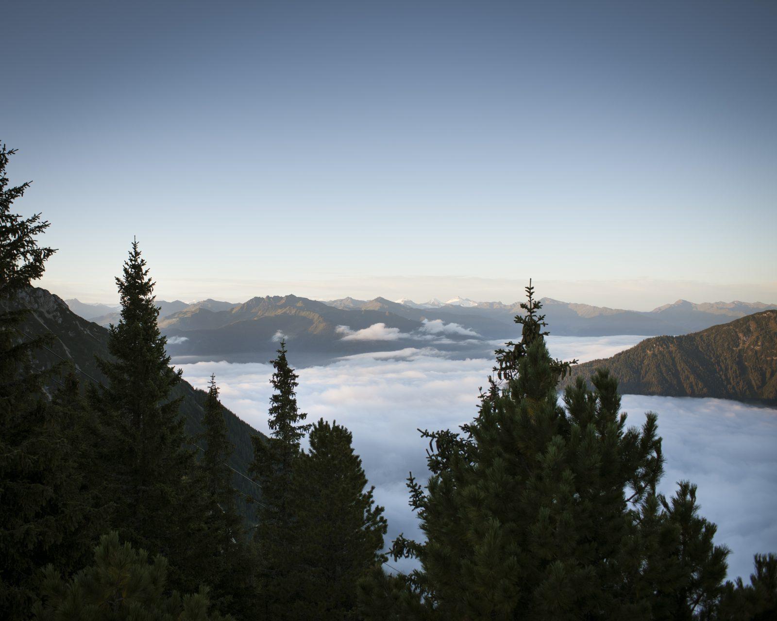 Nebelschwaden, Foto: Tirol Werbung, Jens Schwarz | Climbers Paradise