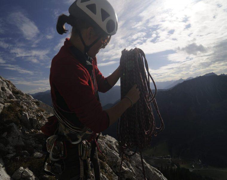 Klettern im Tannheimer Tal, Foto: TVB Tannheimer Tal, Wolfgang Ehn | Climbers Paradise