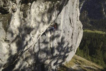 Chinesische Mauer, Foto: Tirol Werbung, Johannes Mair | Climbers Paradise