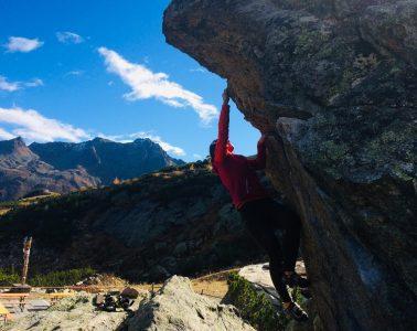 Aussicht beim Bouldern im Silvapark | Climbers Paradise