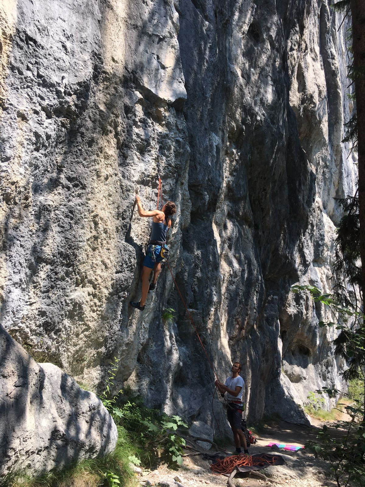 Die Geisterschmiedwand im Kufsteinerland, Foto: Benita Klingler | Climbers Paradise