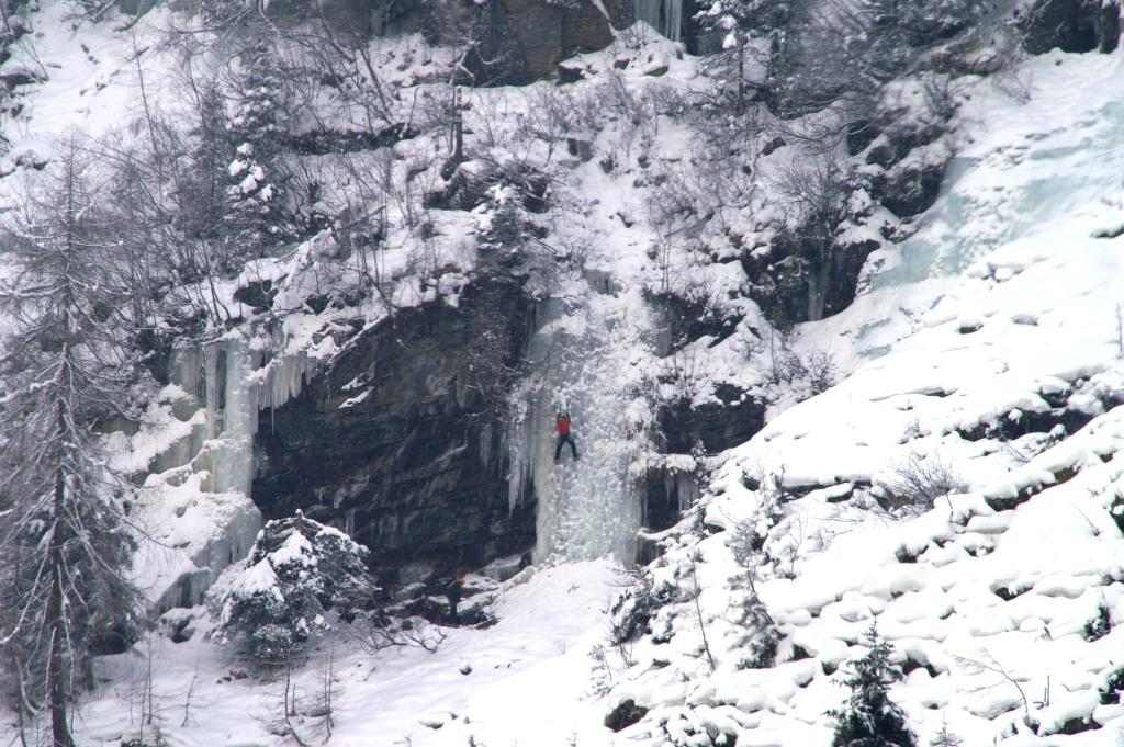Der Bafflfall im Sellraintal | Climbers Paradise