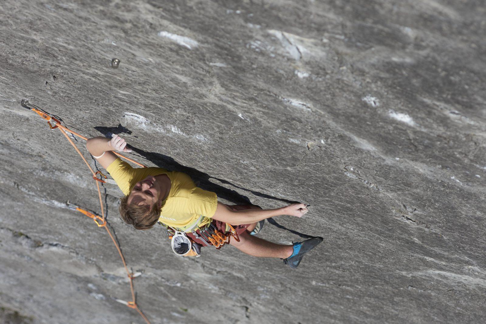 Stimmt die Motivation, dann ist Vieles möglich. Hier im Klettergebiet Starkenbach, Ferienregion Tirol West. Foto: Michael Meisl | Climbers Paradise