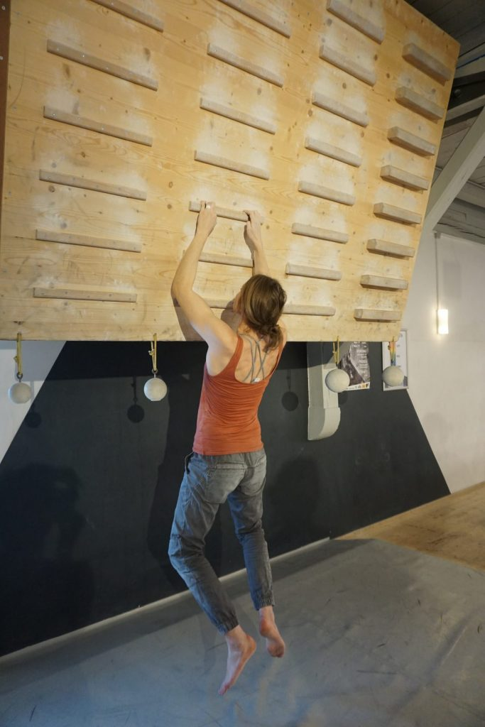 Die Haltung beim Fingertraining | Climbers Paradise