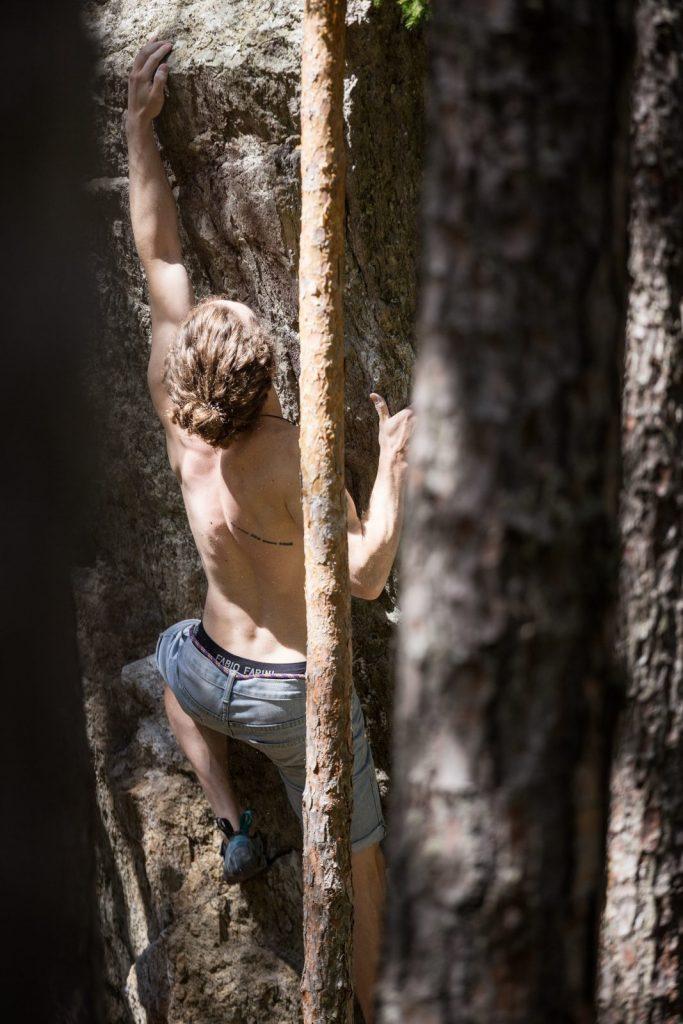 Patrick Gassner im Lands of Giants im Ötztal, Foto: Dominik Hadwiger | Climbers Paradise