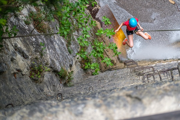 Unterwegs in der Ehnbachklamm, Foto: Kraxlfreunde | Climbers Paradise