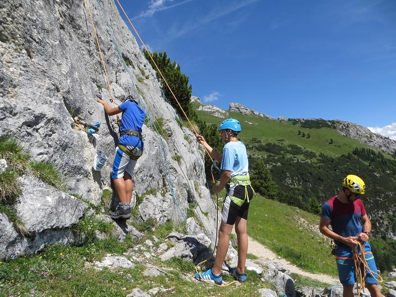 Kletterkurs nahe der Erfurter Hütte, Foto: Kraxlfreunde | Climbers Paradise