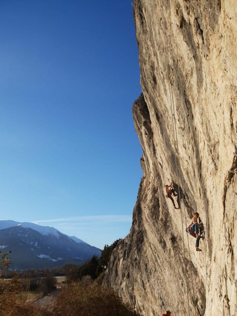 Das Dschungelbuch an der Martinswand bei Innsbruck, Foto: Simon Schöpf | Climbers Paradise