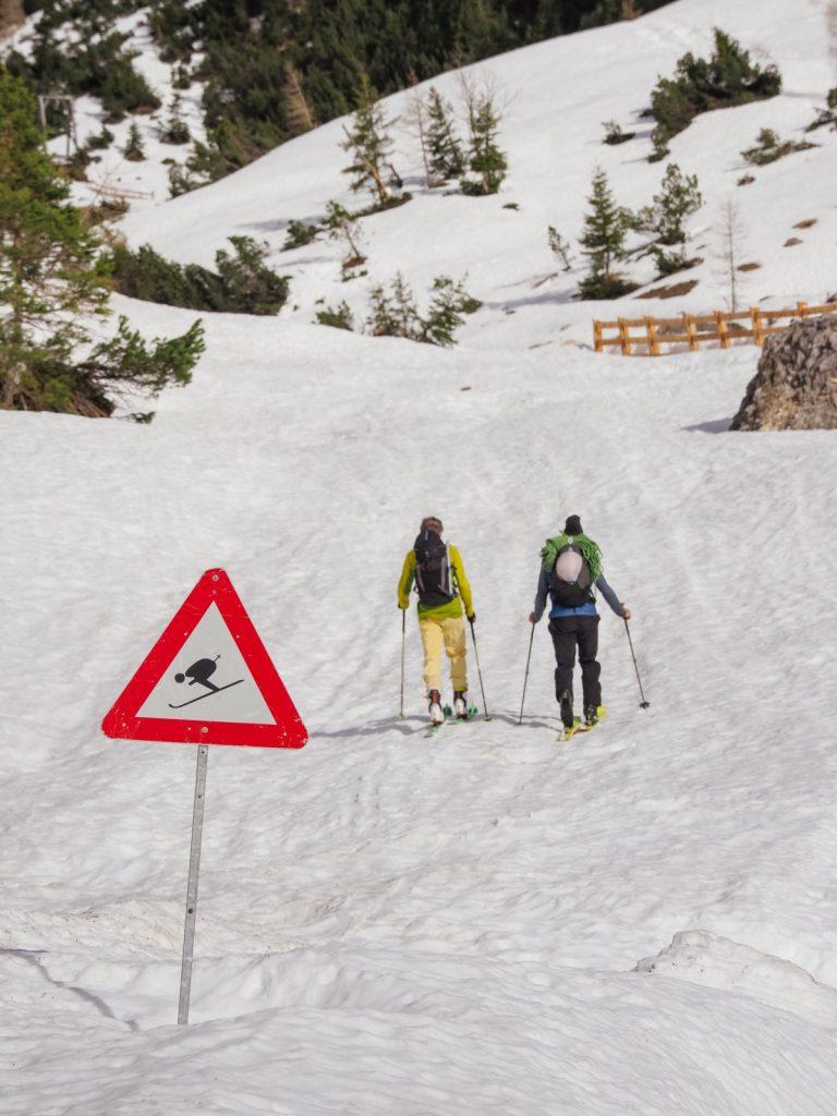 Skitour beim Ski & Climb in der Ferienregion Imst, Foto: Simon Schöpf | Climbers Paradise