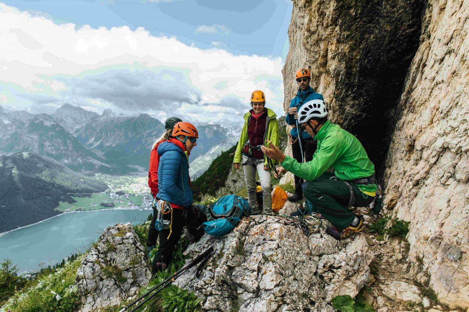 Klettern bei der Rotspitz am Achensee, Foto: sportalpen.com | Climbers Paradise