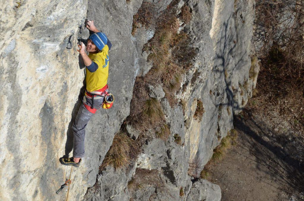 Matthias Bader in Schnellaktion beim Klettern in der wunderbaren Welt im Dschungelbuch | Climbers Paradise