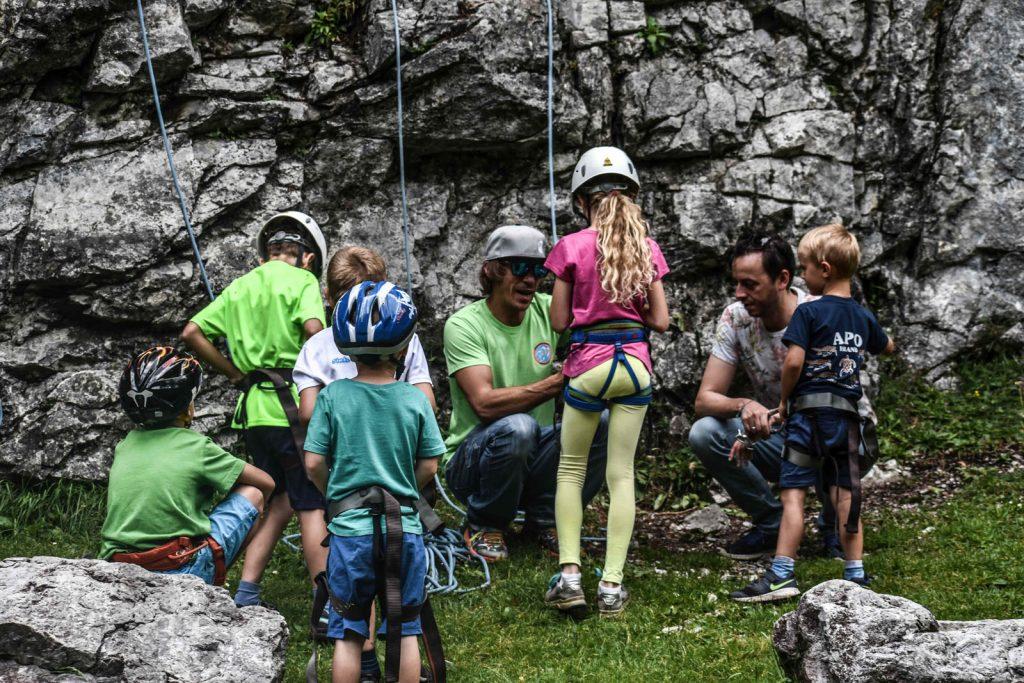 Kletterprogramm für Kinder und Jugendliche bei den ROCKdays, Foto: Sina Bodingbauer | Climbers Paradise