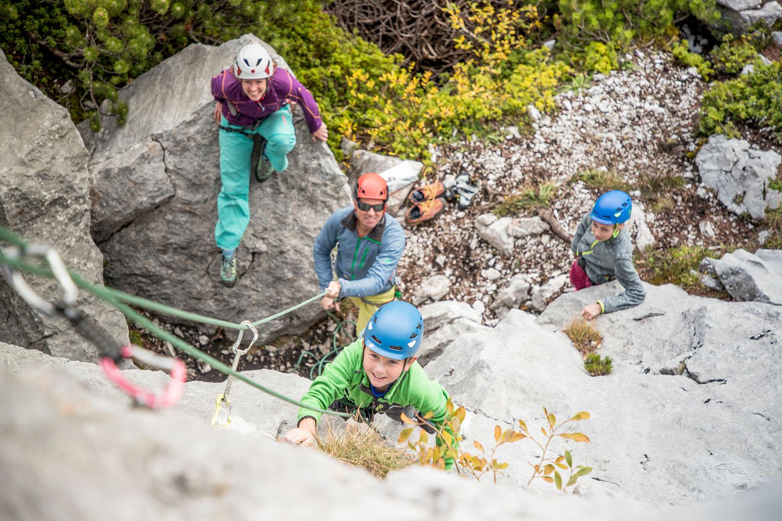 Klettern an der Steinplatte bei den ROCKdays, Foto: Defrancesco | Climbers Paradise