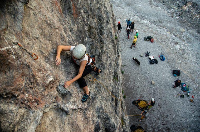 Klettern am Fels, Foto: SAAC   Climbers Paradise