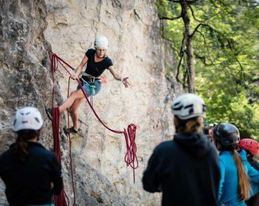 Tipps fürs Klettern am Fels, Foto: SAAC   Climbers Paradise