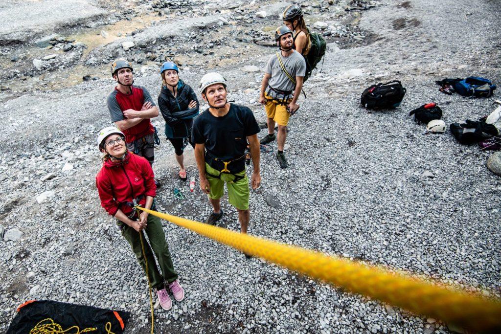 Das richtige Seil zum Klettern am Fels, Foto: SAAC | Climbers Paradise