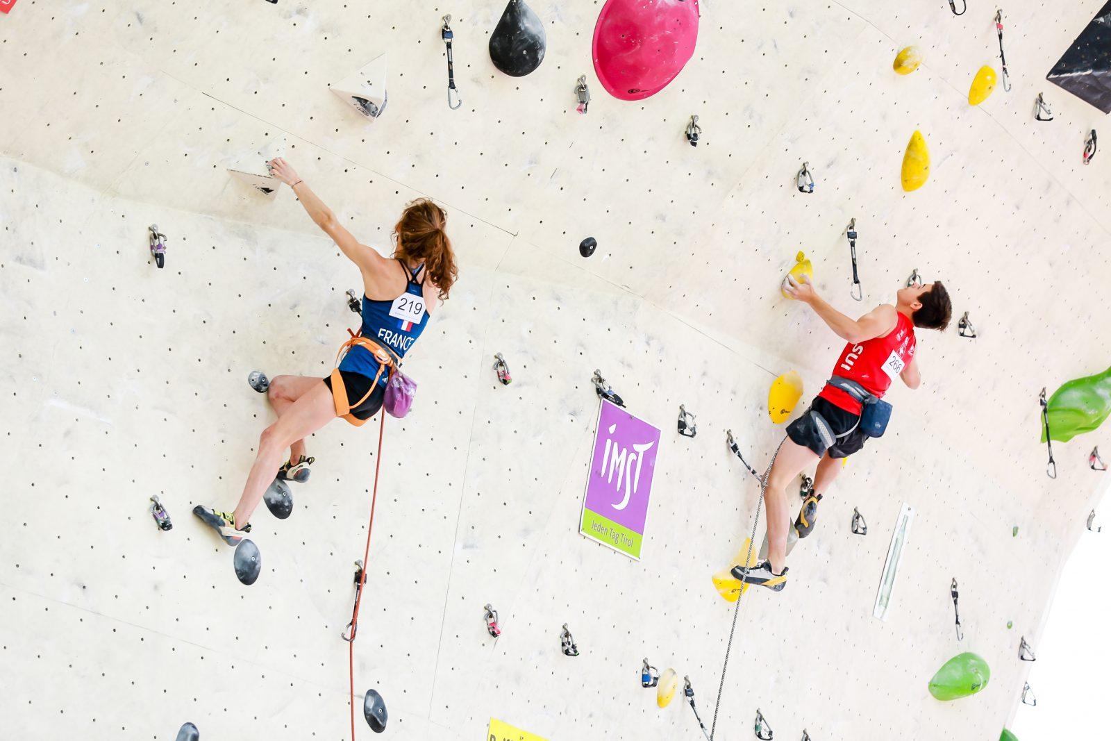 Beim Klettern Imst Festival werden verschiedene Wettbewerbe ausgetragen, Foto: Andy Knabl | Climbers Paradise