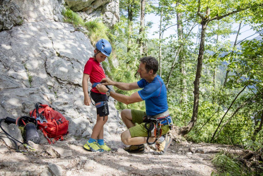 Kletterkurs für Kinder, Foto: Defrancesco | Climbers Paradise