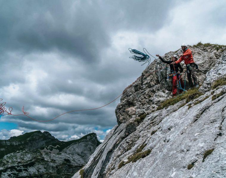 Mehrseillängen in der Region Achensee, Foto: Achensee Tourismus   Climbers Paradise