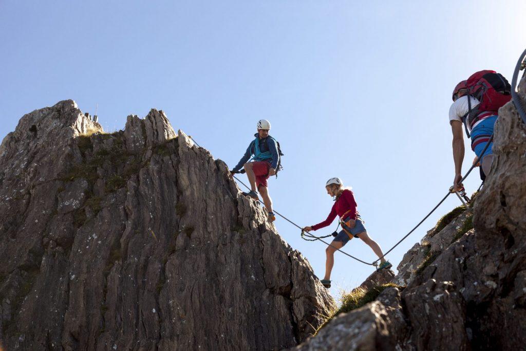 Der Klettersteig Marokka auf der Steinplatte, Foto: Robert Pupeter | Climbers Paradise