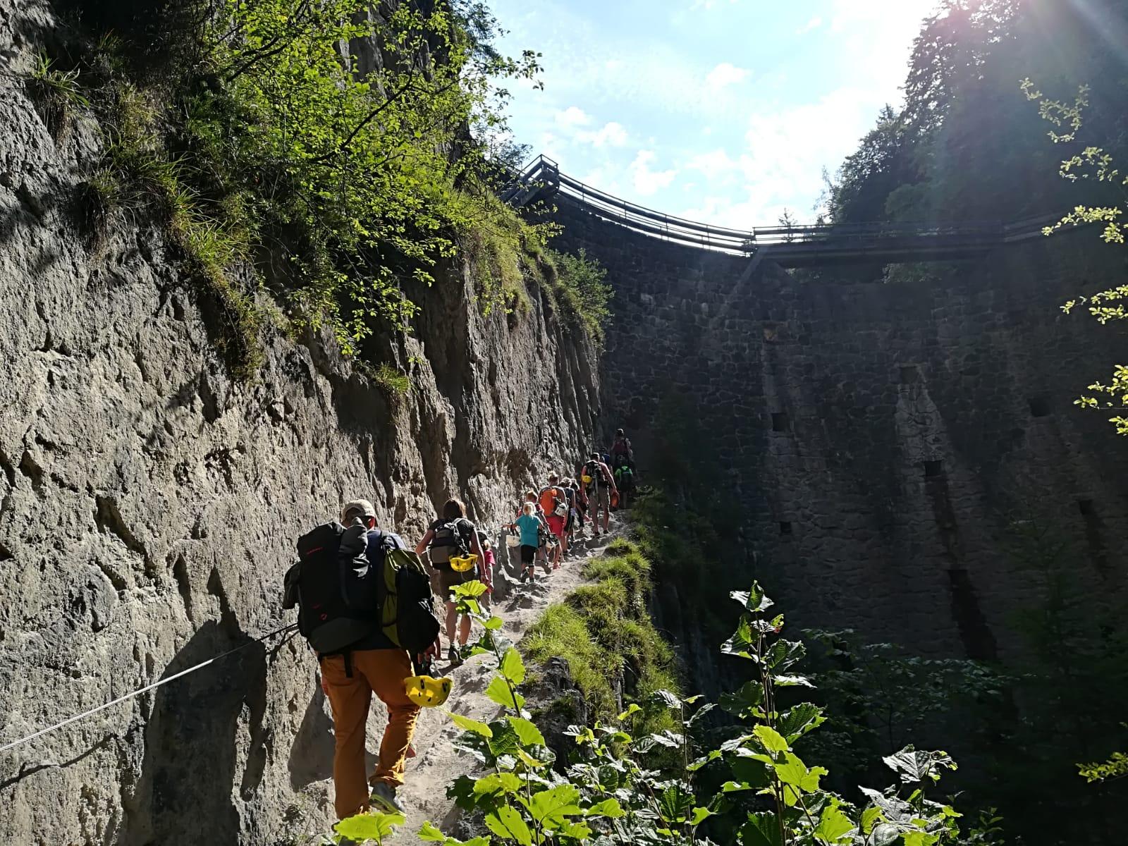 Der Zustieg zur Ehnbachklamm | Climbers Paradise