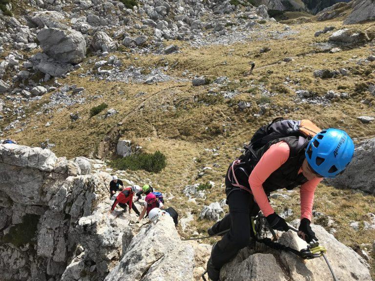Climbhow Ferrata, der Klettersteig-Workshop, Foto: CLIMBHOW   Climbers Paradise