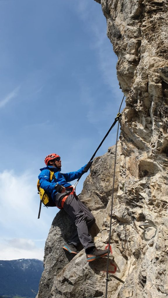 Lerne die richtige Technik am Klettersteig, Foto: Klaus Kranebitter | Climbers Paradise