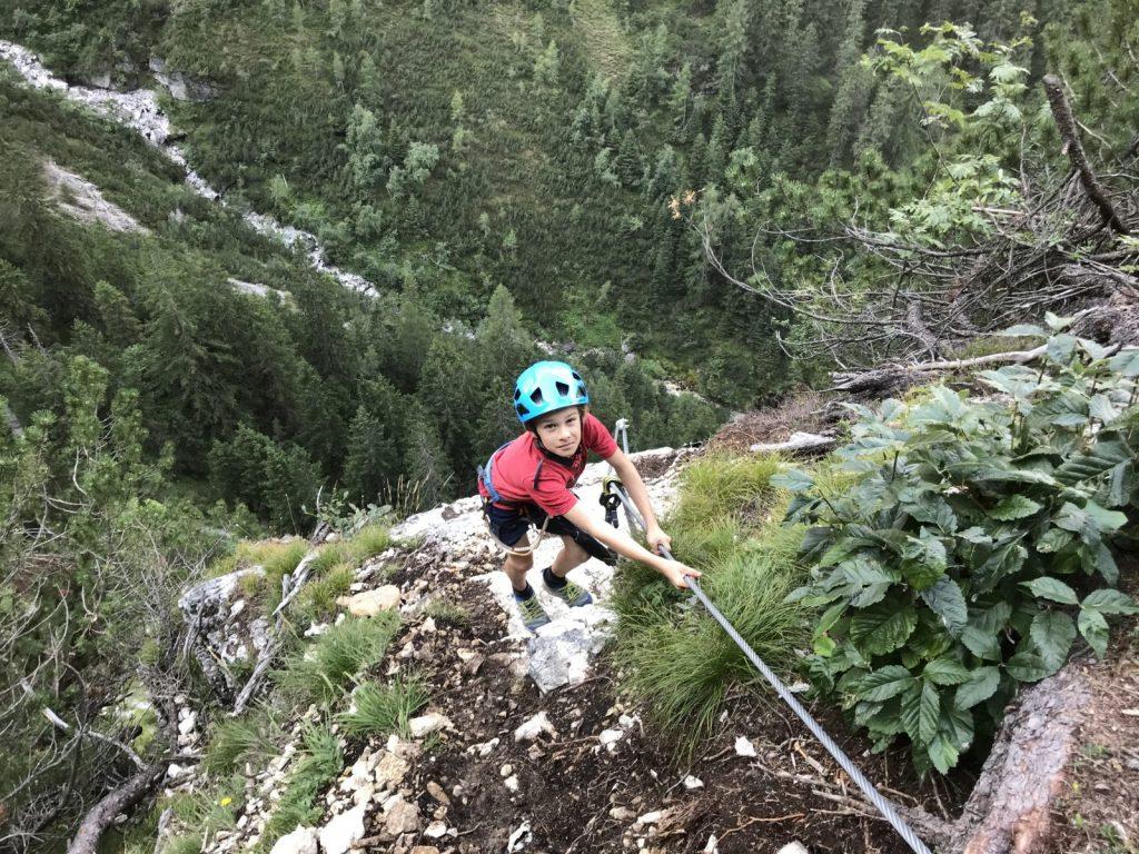 An ausgesetzten Stellen den Kindern Zeit geben | Climbers Paradise
