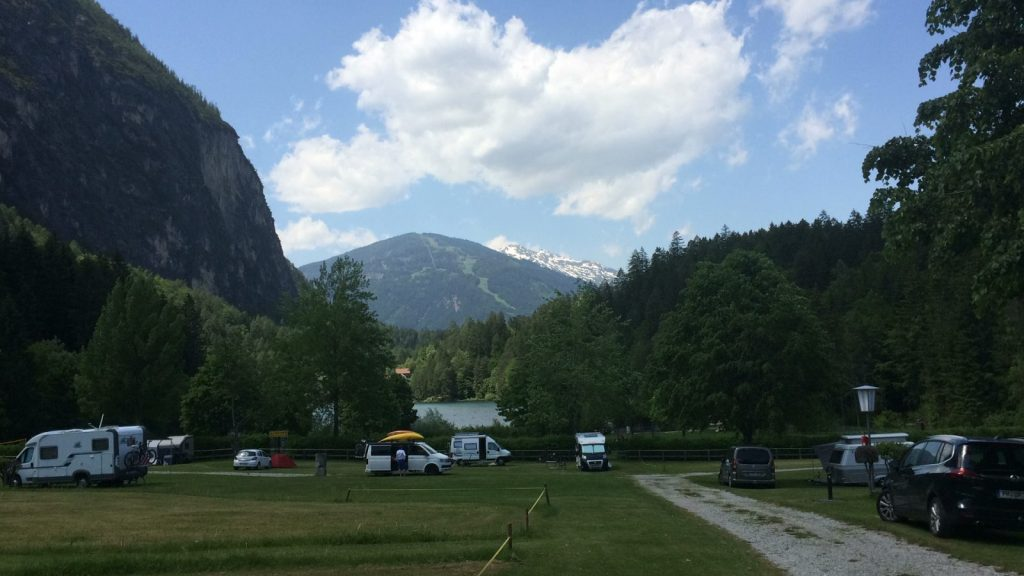 Der Campingplatz in Tristach | Climbers Paradise
