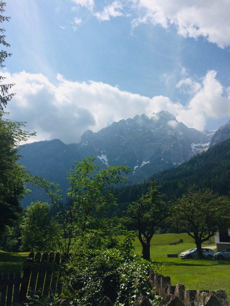 Der Blick auf die Lienzer Dolomiten vom Kreithof aus | Climbers Paradise