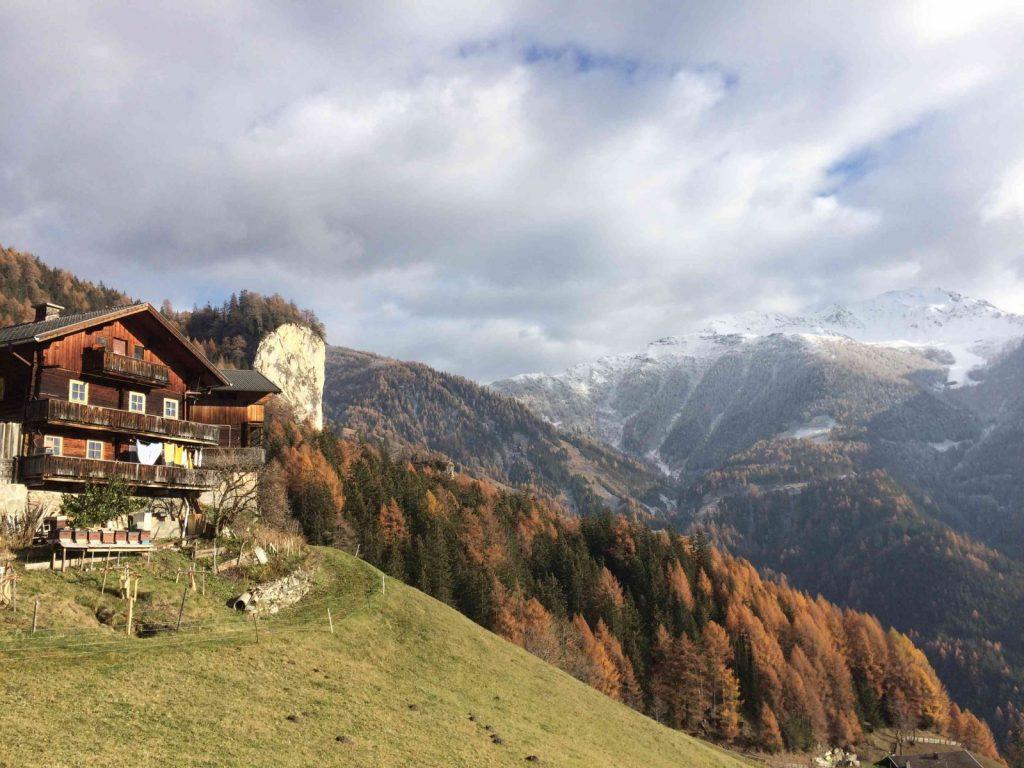 Der Bergbauernhof beim Klettergarten Falkenstein | Climbers Paradise