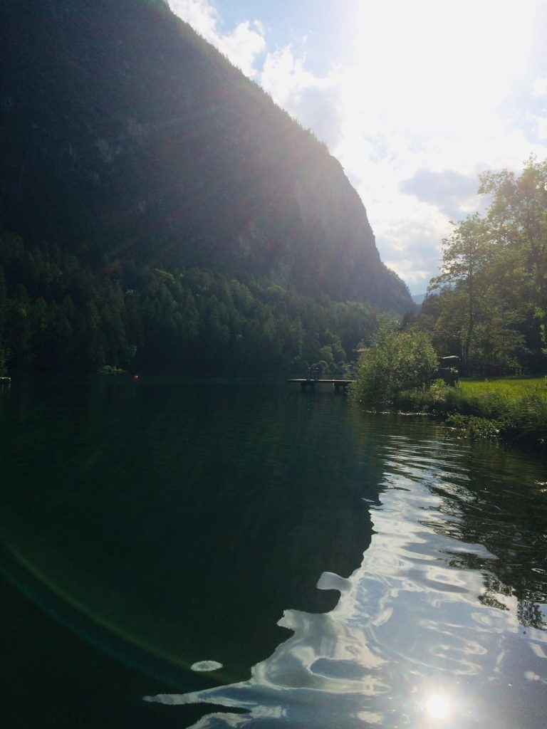 Seeidylle und Sonnenuntergang in Tristach in Osttirol | Climbers Paradise
