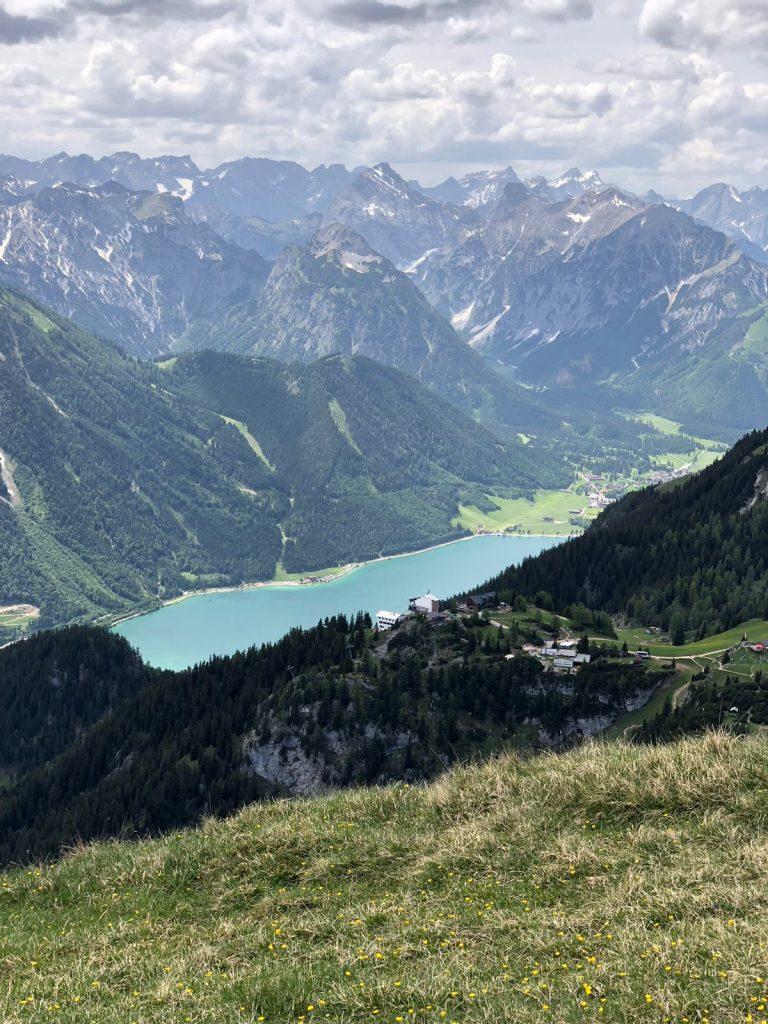 Blick vom Rofan auf den Achensee, Foto: Matthias Bader| Climbers Paradise