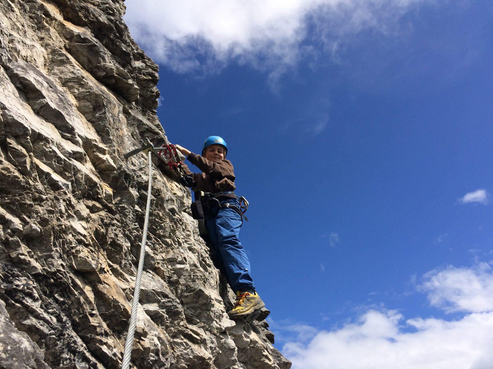 Klettersteig mit Kindern gehen | Climbers Paradise