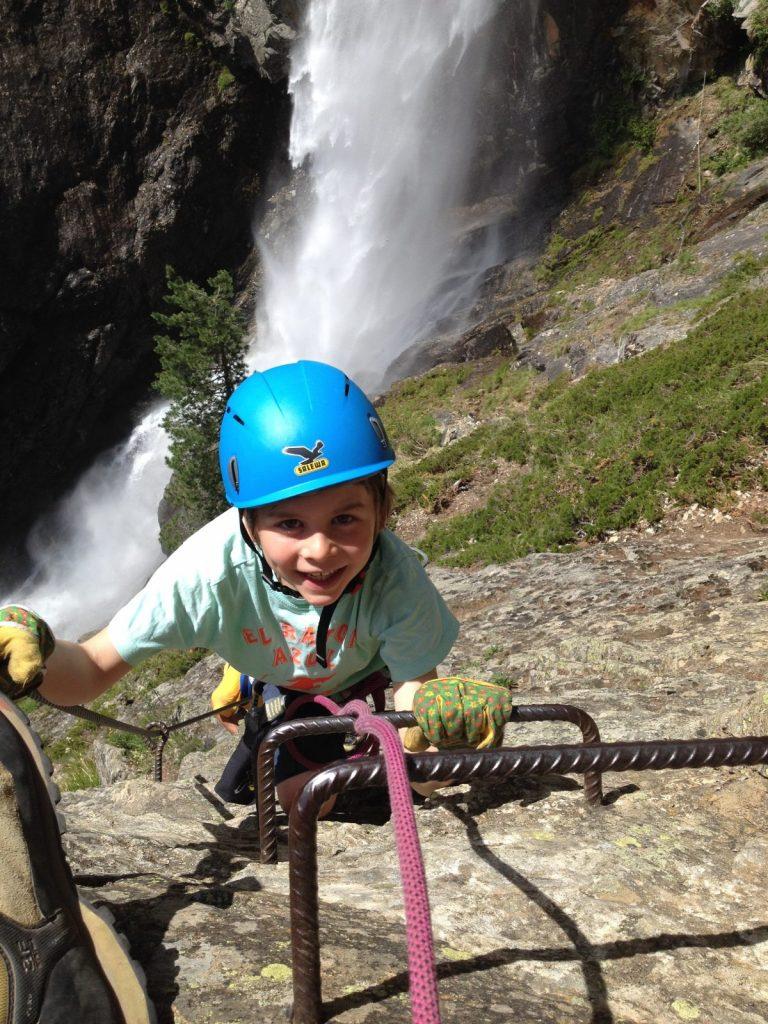Seilsicherung bei Kindern unter 40 kg | Climbers Paradise