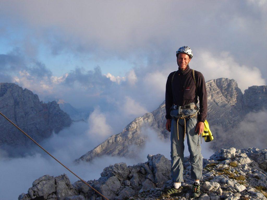 Panorama vom Gipfel der EndeNie-Route, Foto: Thomas Schöpf | Climbers Paradise