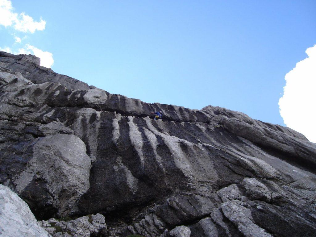 Der Felsen der Route EndeNie, Foto: Thomas Schöpf | Climbers Paradise