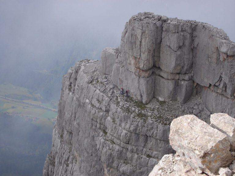 Die Mehrseillängenroute EndeNie der Loferer Steinberge, Foto: Thomas Schöpf | Climbers Paradise